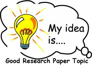 chosing a good research paper questions 100 science topics for research papers updated on march 12, 2018 should the cost of cancer therapy be considered by patients when choosing a therapy 7 are there good reasons for people with cancer to not choose cutting-edge treatments use these questions to help you choose a.